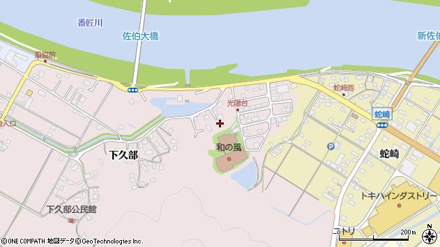 大分県佐伯市池田1708周辺の地図