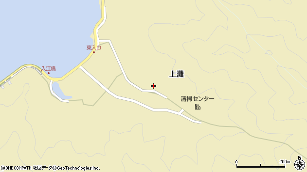 大分県佐伯市9782周辺の地図