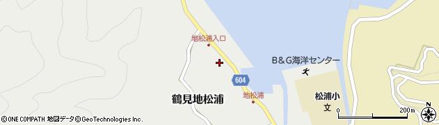 大分県佐伯市鶴見大字地松浦566周辺の地図