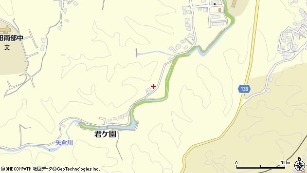 大分県竹田市君ケ園1427周辺の地図