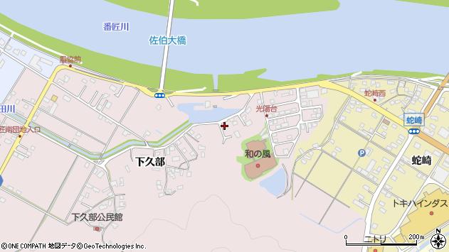 大分県佐伯市池田1693周辺の地図