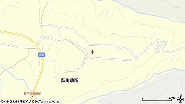 大分県竹田市荻町政所935周辺の地図