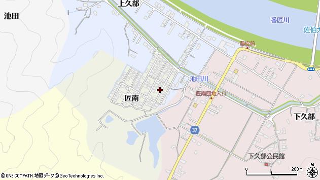 大分県佐伯市池田965周辺の地図