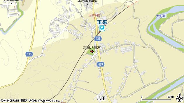 大分県竹田市吉田370周辺の地図