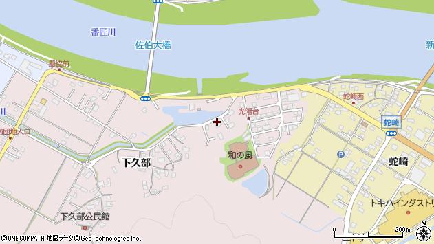 大分県佐伯市池田1694周辺の地図