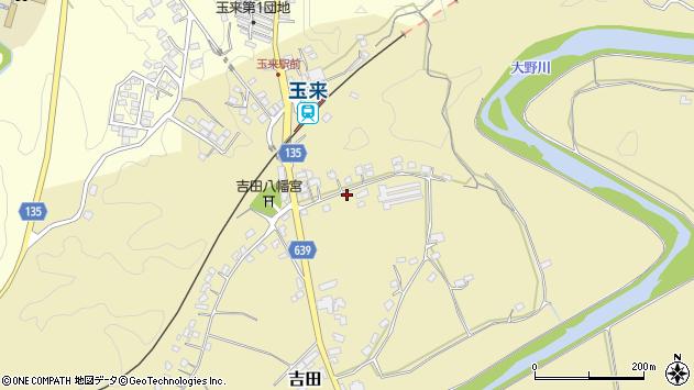 大分県竹田市吉田213周辺の地図
