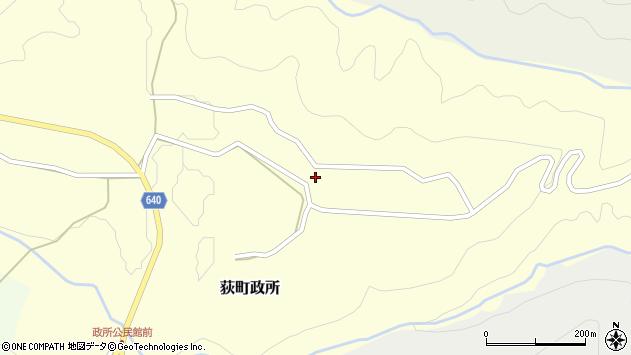 大分県竹田市荻町政所937周辺の地図