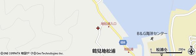 大分県佐伯市鶴見大字地松浦470周辺の地図