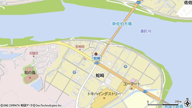 大分県佐伯市池田1955周辺の地図