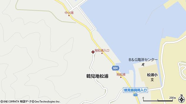 大分県佐伯市鶴見大字地松浦466周辺の地図