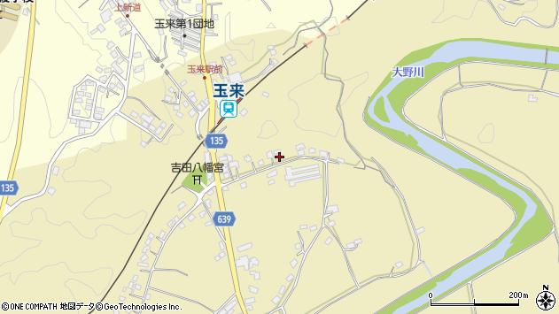 大分県竹田市吉田257周辺の地図