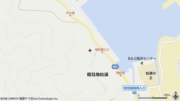 大分県佐伯市鶴見大字地松浦457周辺の地図