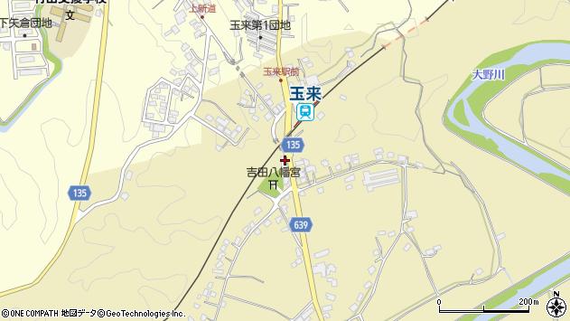 大分県竹田市吉田237周辺の地図