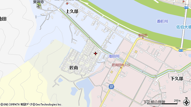 大分県佐伯市池田974周辺の地図