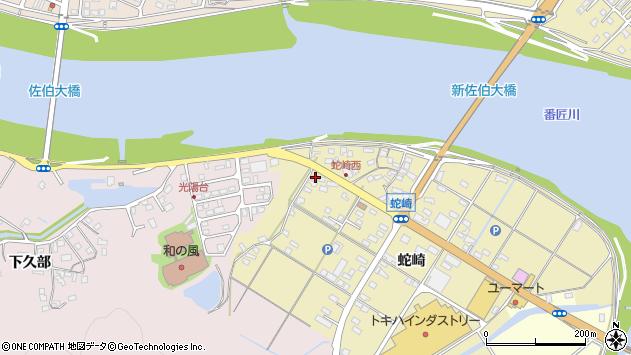大分県佐伯市池田1856周辺の地図