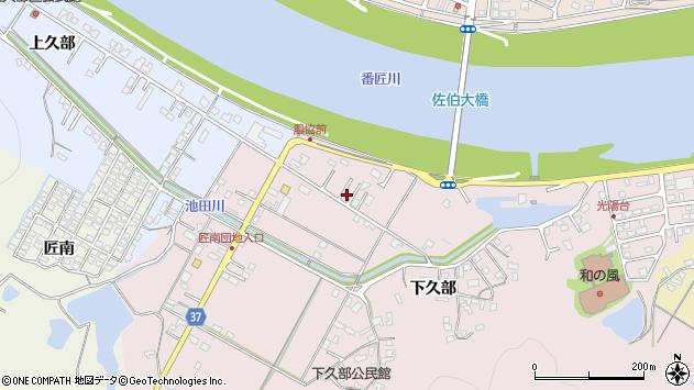 大分県佐伯市池田1324周辺の地図