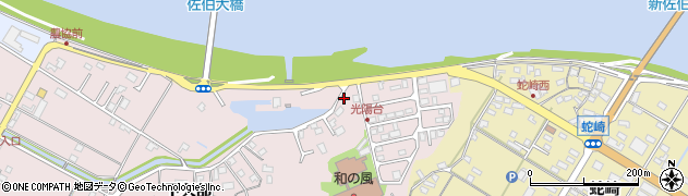 大分県佐伯市池田1718周辺の地図