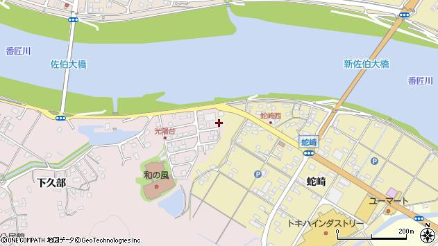 大分県佐伯市池田1725周辺の地図