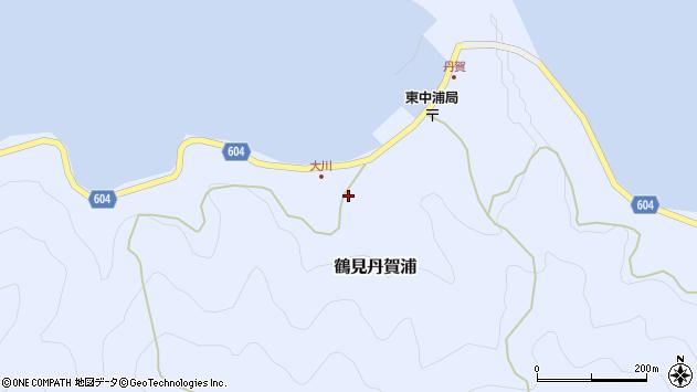 大分県佐伯市鶴見大字丹賀浦134周辺の地図