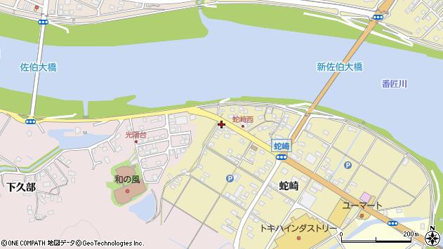 大分県佐伯市池田1865周辺の地図