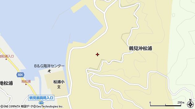 大分県佐伯市鶴見大字沖松浦904周辺の地図