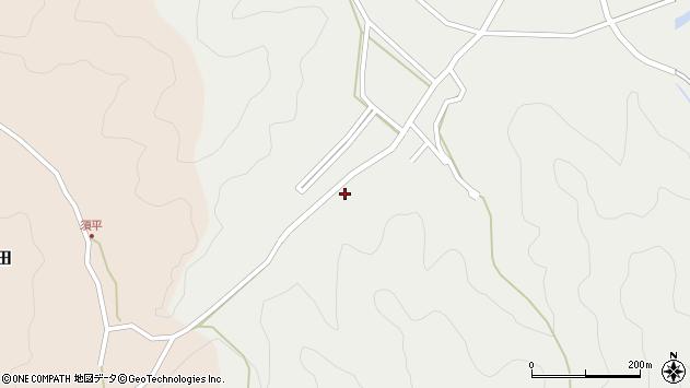 大分県佐伯市上岡595周辺の地図