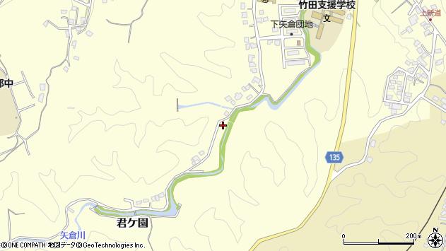大分県竹田市君ケ園1432周辺の地図