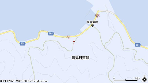 大分県佐伯市鶴見大字丹賀浦126周辺の地図