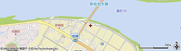大分県佐伯市池田2597周辺の地図