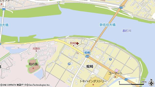 大分県佐伯市池田1888周辺の地図