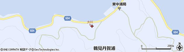 大分県佐伯市鶴見大字丹賀浦111周辺の地図