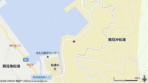 大分県佐伯市鶴見大字沖松浦825周辺の地図