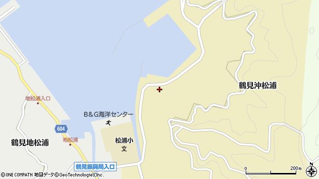 大分県佐伯市鶴見大字沖松浦814周辺の地図