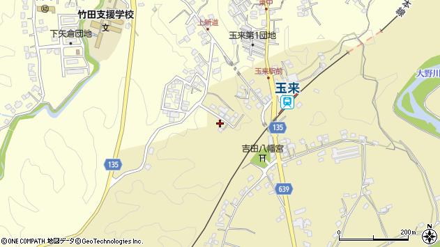 大分県竹田市吉田510周辺の地図