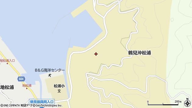 大分県佐伯市鶴見大字沖松浦834周辺の地図