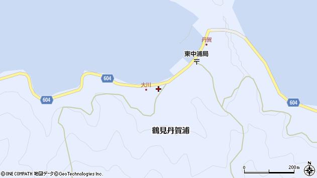 大分県佐伯市鶴見大字丹賀浦129周辺の地図