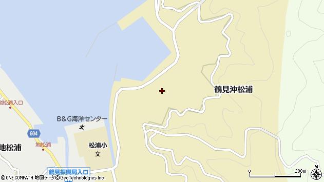 大分県佐伯市鶴見大字沖松浦865周辺の地図