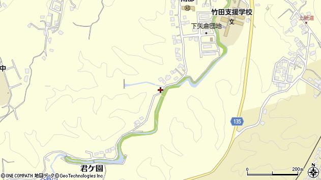 大分県竹田市君ケ園1436周辺の地図