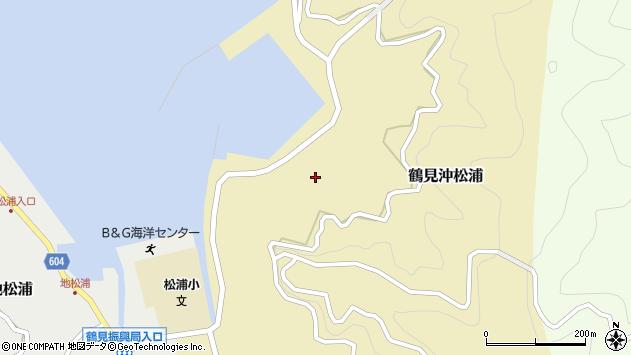 大分県佐伯市鶴見大字沖松浦870周辺の地図