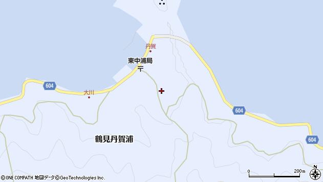 大分県佐伯市鶴見大字丹賀浦141周辺の地図