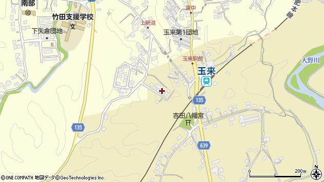大分県竹田市吉田505周辺の地図