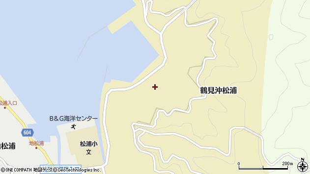 大分県佐伯市鶴見大字沖松浦859周辺の地図