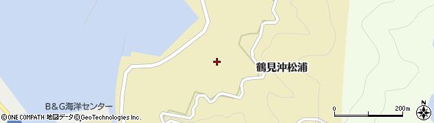 大分県佐伯市鶴見大字沖松浦878周辺の地図