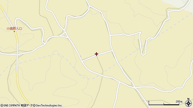 大分県竹田市入田2454周辺の地図