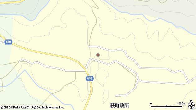 大分県竹田市荻町政所1003周辺の地図