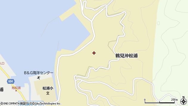大分県佐伯市鶴見大字沖松浦875周辺の地図