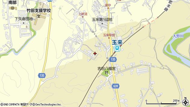 大分県竹田市吉田503周辺の地図