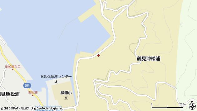 大分県佐伯市鶴見大字沖松浦848周辺の地図