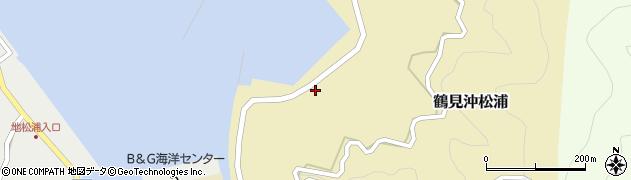 大分県佐伯市鶴見大字沖松浦864周辺の地図