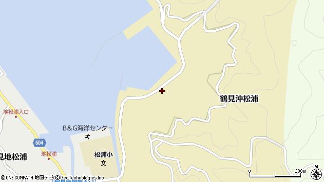 大分県佐伯市鶴見大字沖松浦837周辺の地図